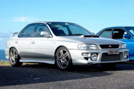 May's Feature Car: Brett Whinnen's MY00 - WRX Club of Queensland